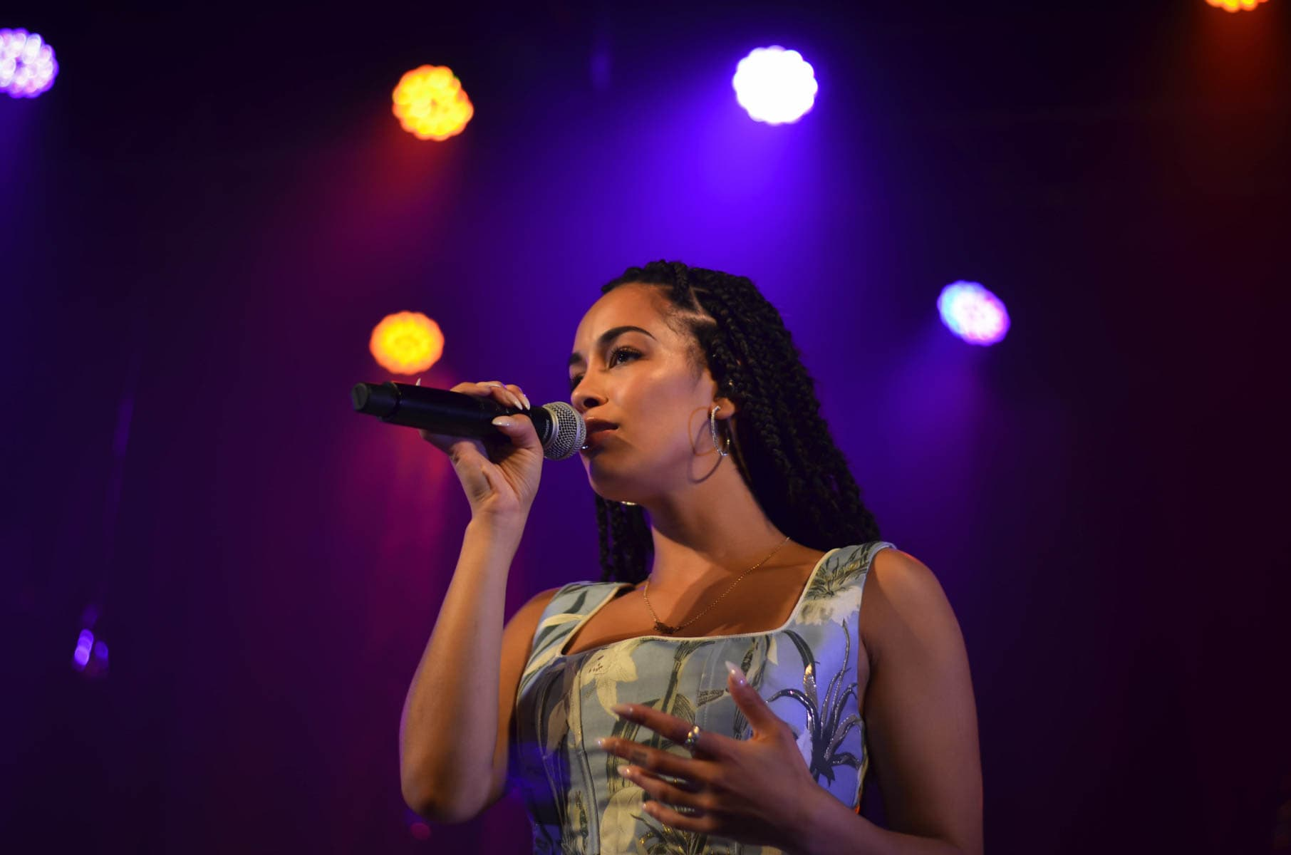 Photos: Jorja Smith w/ Ama Lou – The Opera House 05/07/18