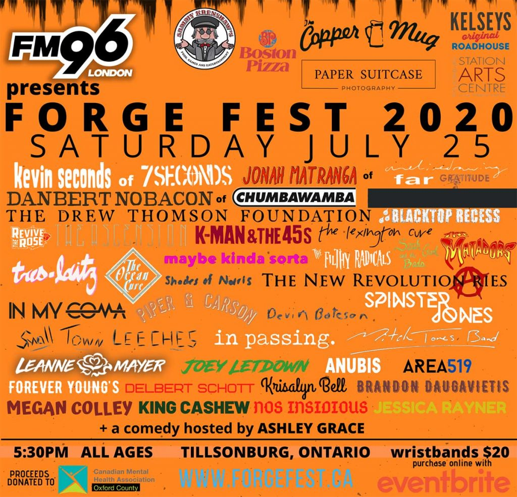 Forge Fest Returns To Tillsonburg, ON This Summer